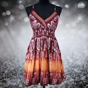 Dresses & Skirts - Stunning Boho Spaghetti Strapped Dress